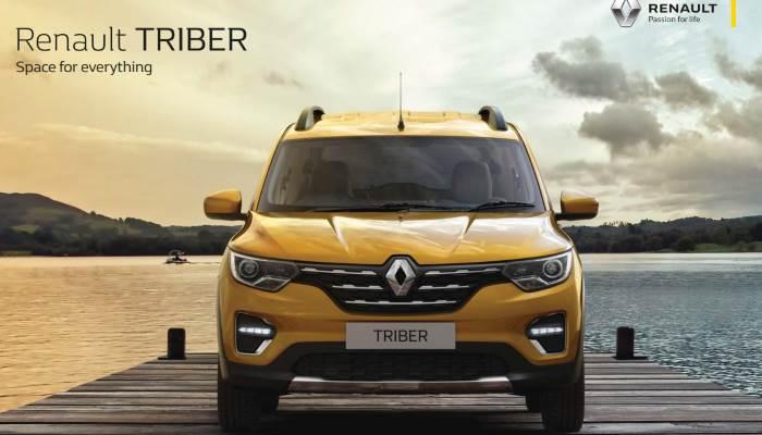 В Индии на платформе Рено Дастер создали 7 местный кроссовер Renault TRIBER (много фото)