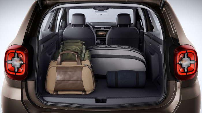 Новый Рено Дастер 2020-2021 фото багажника