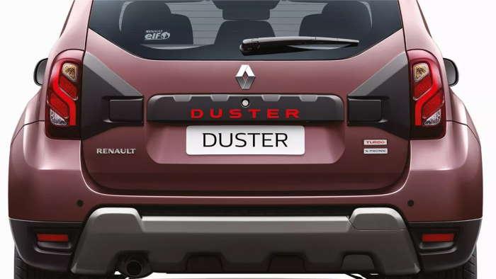 Рено Дастер 2020 для Индии фото сзади