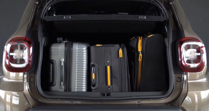 Новый Renault Duster 2021 фотографии багажника